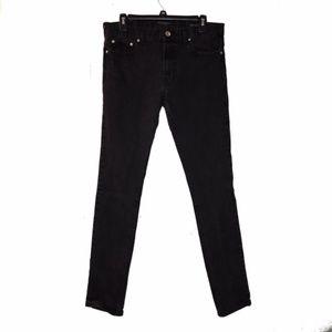 PACSUN | mens black skinny jeans size 32 x 34